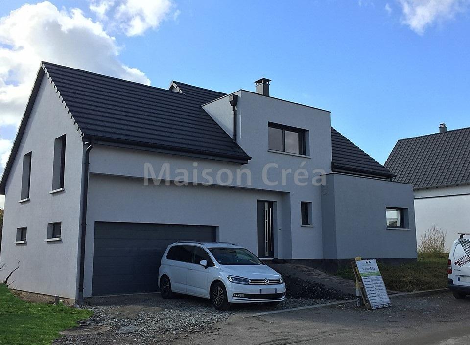 Construction d 39 une maison hochfelden maison cr a for Constructeur maison individuelle 67